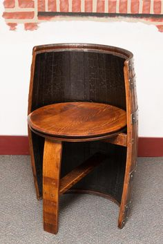 Sonoma Barrel Chair - Indoor Finish - Donachelli's Rustic Decor