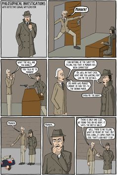 Philosophical Investigations - Existential Comics