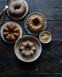 chai masala pound cake | two red bowls