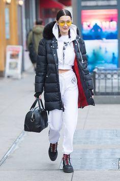 Bella Hadid street style 2017, Белла Хадид уличный стиль 2017
