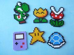 pixel art mario gameboy yoshi