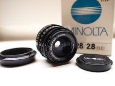 Nu in de #Catawiki veilingen: Leica/Minolta M-Rokkor lenzen 28, 40 en 90 met originele doosjes. (lot van drie lenz...