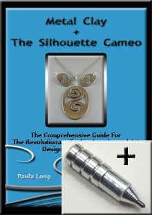 Video Package : Metal Clay + The Silhouette Cameo plus Etching Tool  Learn to ETCH & CUT on Metal Clay