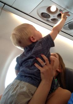 Entertaining a Toddler on a Plane