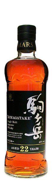 Mars Komagatake 22 yo Single malt Japanese whisky (750ml, 43%) – Rare Malts & Co.