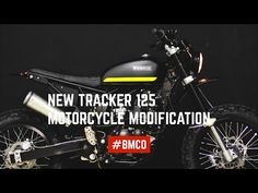 Born New Tracker 125 - Motorcycle modification #02 - YouTube