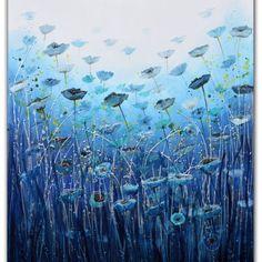 Water poppies by Amanda Dagg
