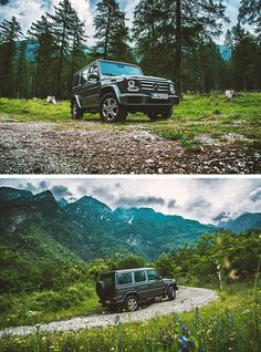 Unique design, compactness, ground clearance and robust offroad capability: the Mercedes-Benz G-Class stays true to its values. Photos by Dimitri Bokow. #MBsocialcar [Combined fuel consumption 12.3 l/100km | combined CO2 emission 289 g/km | http://mb4.me/efficiency_statement]