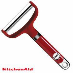 Kitchen Cabinets Decor, Cabinet Decor, Kitchen Utensils, Kitchen Gadgets, Kitchen Appliances, Red Kitchen Aid, Quirky Kitchen, New Kitchen, Kitchen Stuff