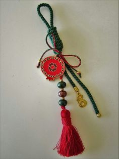 Heart Knot, Tola, Xmas, Christmas, Tassel Necklace, Diy And Crafts, Projects To Try, Charmed, Diy Ideas