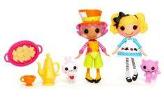 Mini Lalaloopsy - Wacky Hatter & Alice in Lalaloopsy Land - Fairy Tales Edition - Series 7/9