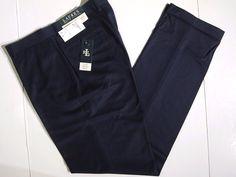 Lauren Ralph Lauren blue check classic fit dress men's pants size 34x34 NEW #LaurenRalphLauren #DressFlatFront