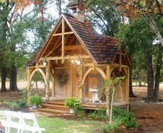 Rustic little outdoor Chapel