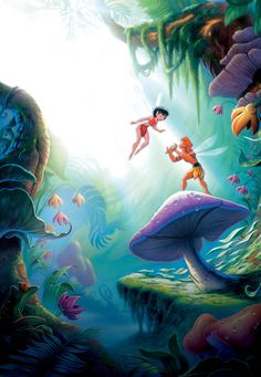Fern Gully: The Last Rainforest Old Disney, Disney Love, Disney And Dreamworks, Disney Pixar, Non Disney Princesses, Laika Studios, Childhood Movies, Disney Animation, Animation Movies