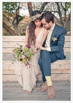 Hippy wedding