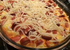 Tojásos-tejfölös öntött krumpli Macaroni And Cheese, Cabbage, Muffin, Food And Drink, Pizza, Vegetables, Ethnic Recipes, Kitchens, Food And Drinks