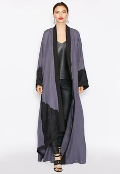 Love the flow of this abaya by Haya's Closet