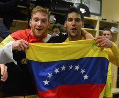 Fernando Aristeguieta y Gabriel Cichero #Seleccion #Futbol #Venezuela
