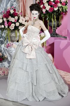 Christian Dior at Couture Spring 2010 - StyleBistro