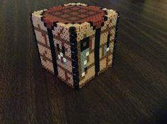 Minecraft crafting table (Perler art) by DragonicCreations on DeviantArt