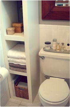small Bathroom Storage | Bathroom Storage Ideas for Small Bathrooms |