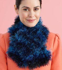 Fun Fur Dandelion Brand Scarf