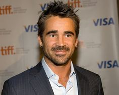 Colin Farrell    2nd best-looking guy in Hollywood.