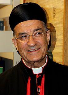 Maronite Patriarch Bechara Boutros al-Rahi