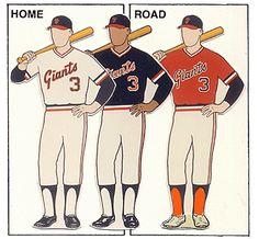 68b4ec99c5fa San Francisco Giants Uniforms 1978-1982 Mlb Uniforms