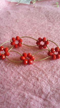 Cute Bracelets, Handmade Bracelets, Bangle Bracelets, Bead Jewellery, Beaded Jewelry, Jewelery, Jewelry Crafts, Jewelry Art, Jewelry Design