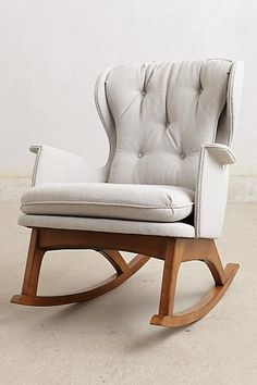 GOT IT! A Lay-z-boy grey rocker recliner instead though (Finn Rocker I anthropologie.com)