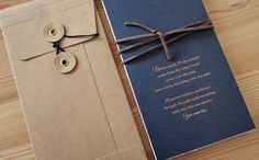 Oh So Beautiful Paper: Lyndsey + Keith's Copper Foil and Navy Iceland Wedding Invitations