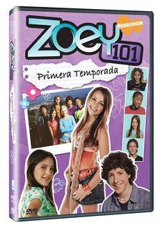 Diseño publicitario de DVD's - Stop Diseño Gráfico - Diseño de Zoey 101 - Primera Temporada - Nickelodeon