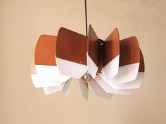 Wood Pendant Light Modern Chandelier Lighting Mid Century