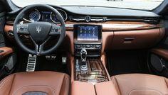 Maserati Gives Its Quattroporte Flagship Sedan a Face-Lift Automotive Upholstery, Automotive Carpet, Automotive Group, Automotive Logo, Maserati Quattroporte, Best Muscle Cars, Top Cars, Car Shop, Sicily