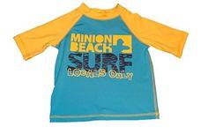 Despicable Me Minion Beach Boys Rash Guard / Swim Shirt (Size 4)