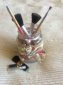 Dekorácie - Dekoračný pohárik pre princeznú - 6971407_