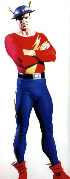 Flash (Jay Garrick) by Alex Ross