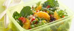 Quinoa is high in protein, low in fat and cooks quickly--a perfect ingredient to toss in this citrus-flavored salad.