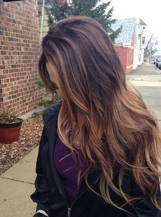 Dark Brown Hair Color Ideas 2018 Caramel Balayage