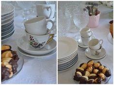 Ideias para montar uma mesa de café da tarde de aniversário   Kin's bday