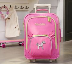 Fairfax Pink Luggage     For our adventures with Molly....