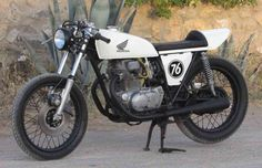 Up for sale is a one of a kind Honda Cafe Racer. This is a fine example of a…
