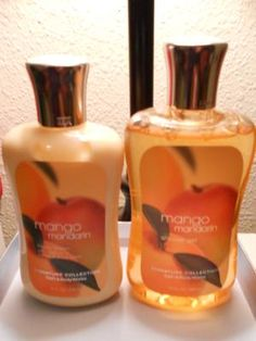 BATH & BODY WORKS MANGO MANDARIN SET (FREE SHIPPING) $16