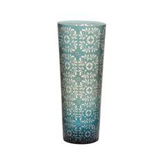 Amazon.com - Lazy Susan Atlantis Etched Vase - Decorative Vases