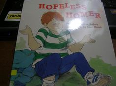 Children Book: Hopeless Homer -Story By Norman Najimy, Illustration By Joan Holub (FREE SHIPPING)-$10.00