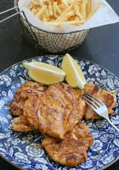 very quick chicken breasts with peri peri and lemon