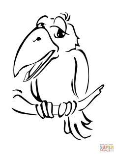 24 Als Die Raben Noch Bunt Waren Ideen Bastelarbeiten Kinderbasteleien Vogel Basteln