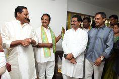 Kiran Kumar Reddy ,Lagadapati Rajagopal and Narasimha Raju