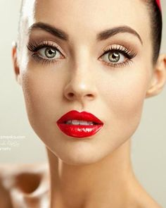 Classic red lip for the holidays!  Ilia's Crimson and Clover Lip Conditioner with Heartbeat gloss are our choices for this classy look. http://www.artofskincare.com/ilia-tinted-lip-conditioner/